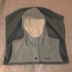 Columbia Mint Green Vest